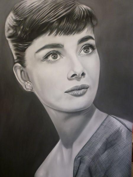 Audrey Hepburn by ricopainting
